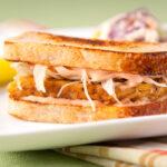Jill Skeem - Tempeh Reuben Sandwich